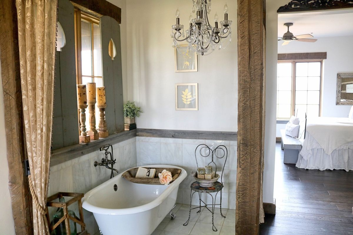 Case Bagno Stile Country : La splendida farm di lucy rose bathrooms case