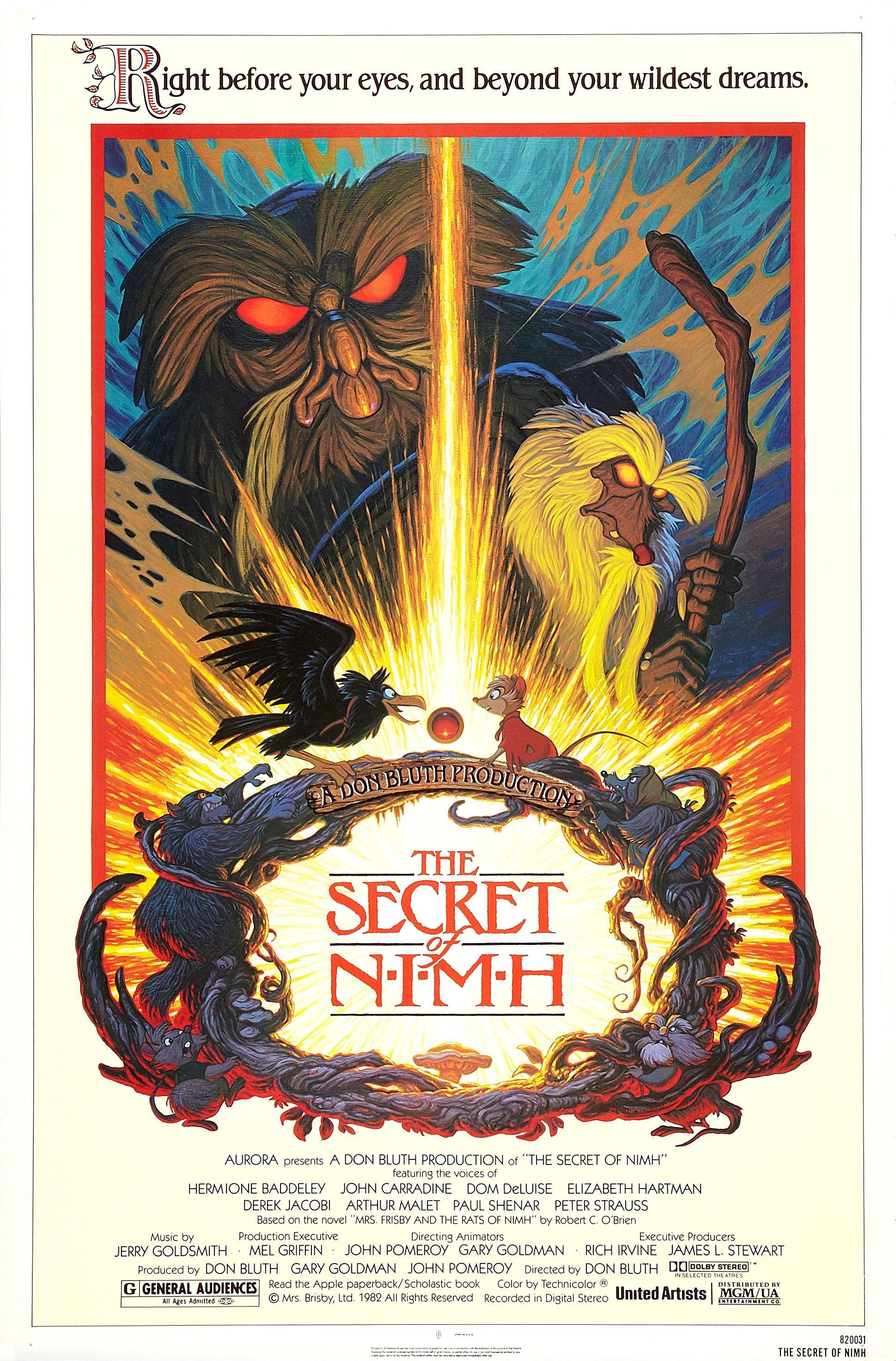The Secret Of Nimh 1982 1939x2944 The Secret Of Nimh Nimh Animated Movies