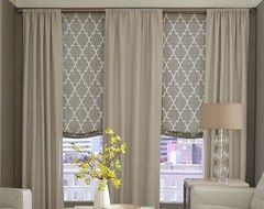 Need Ideas On Bay Window Treatments Houzz Window Treatments Living Room Bay Window Treatments Modern Window Treatments