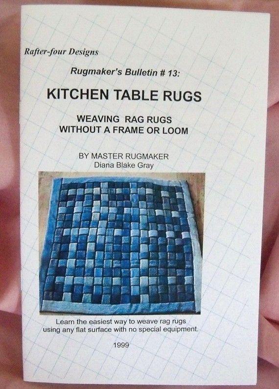 Kitchen Rag Rugs Home Decor