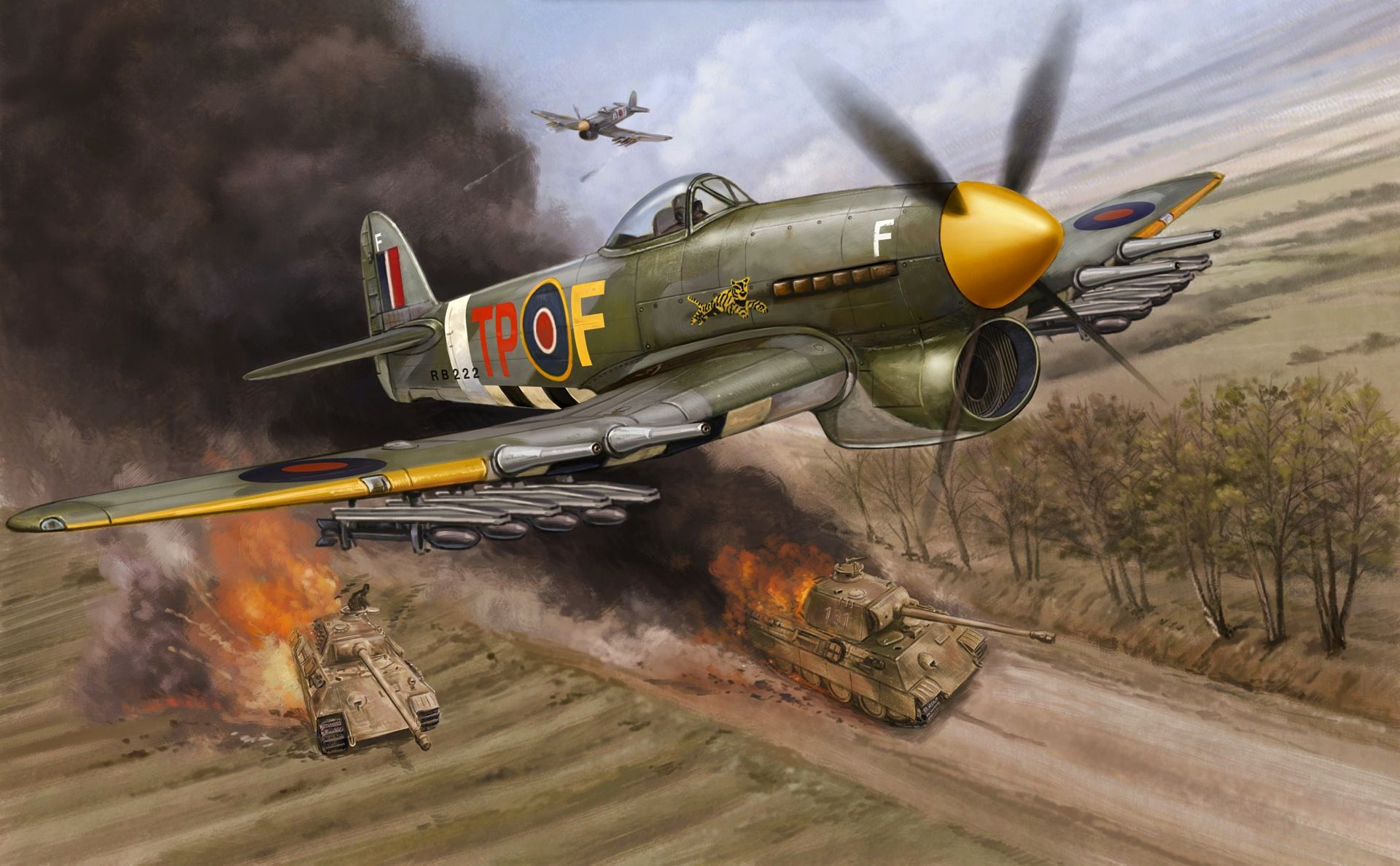 wwii aviation artwork – gallery 1 : atomic toasters | military art