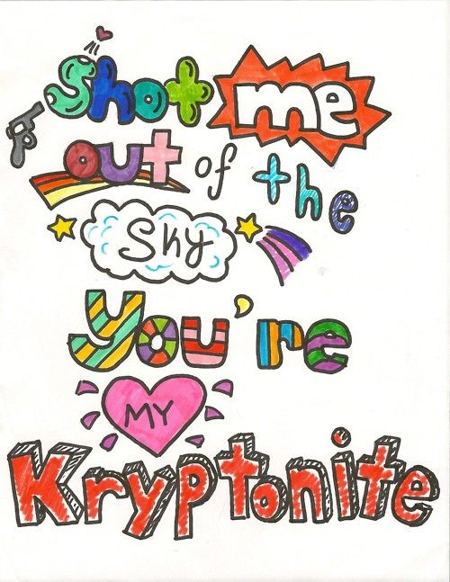 One Direction Song Lyric Drawings One Direction Lyrics