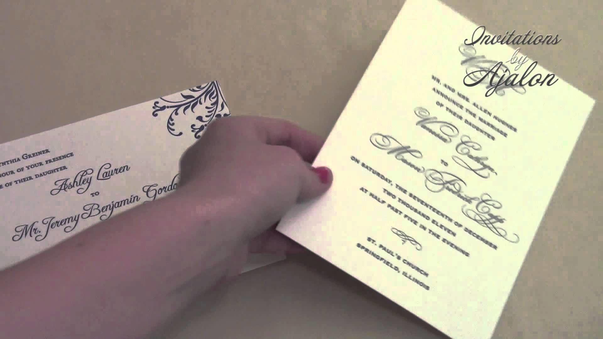 diy cd wedding invitations%0A DIY Wedding Invitation Wording  Bride Hosts