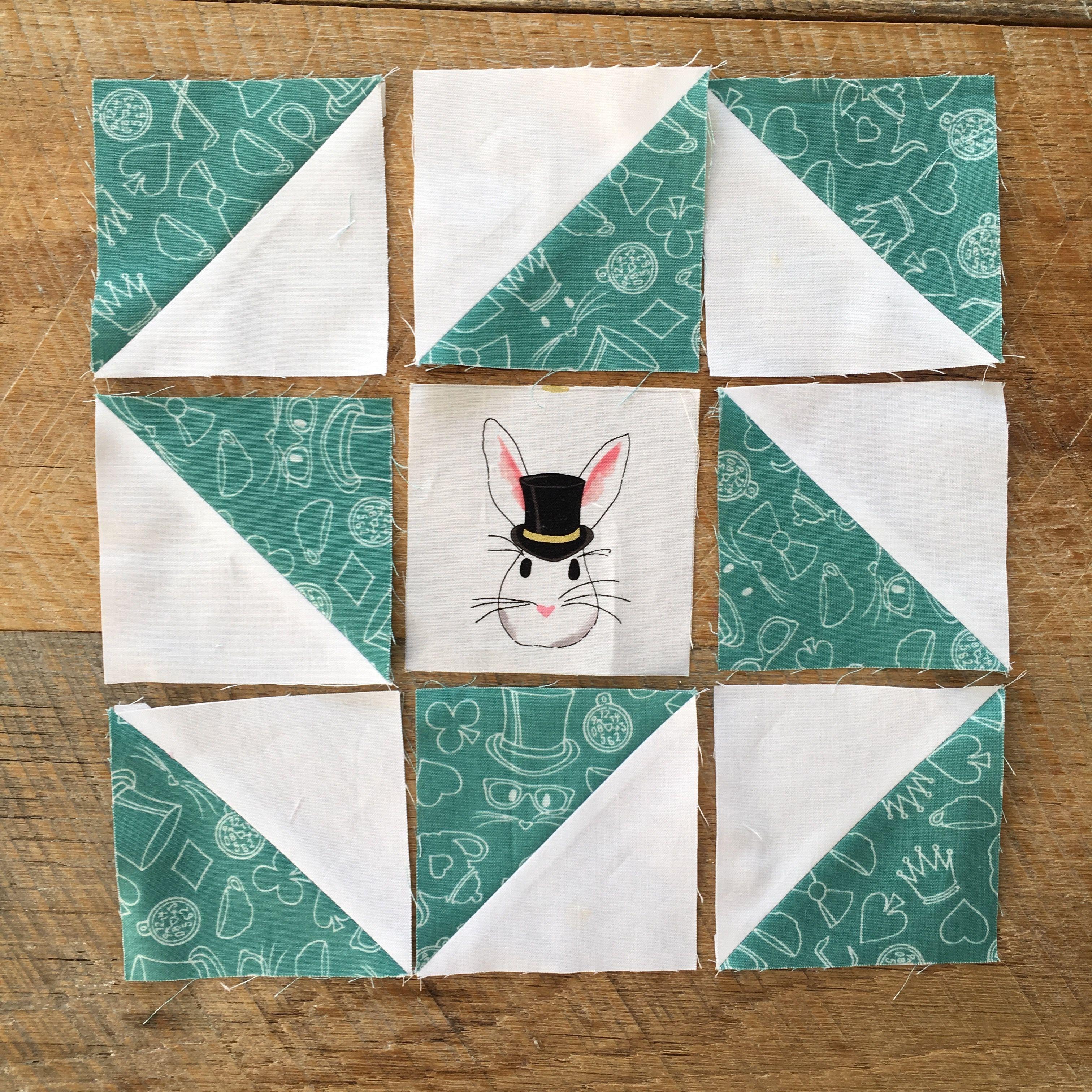 Cute Mini Quilt Tutorial Featuring Wonderland 2 Fabric