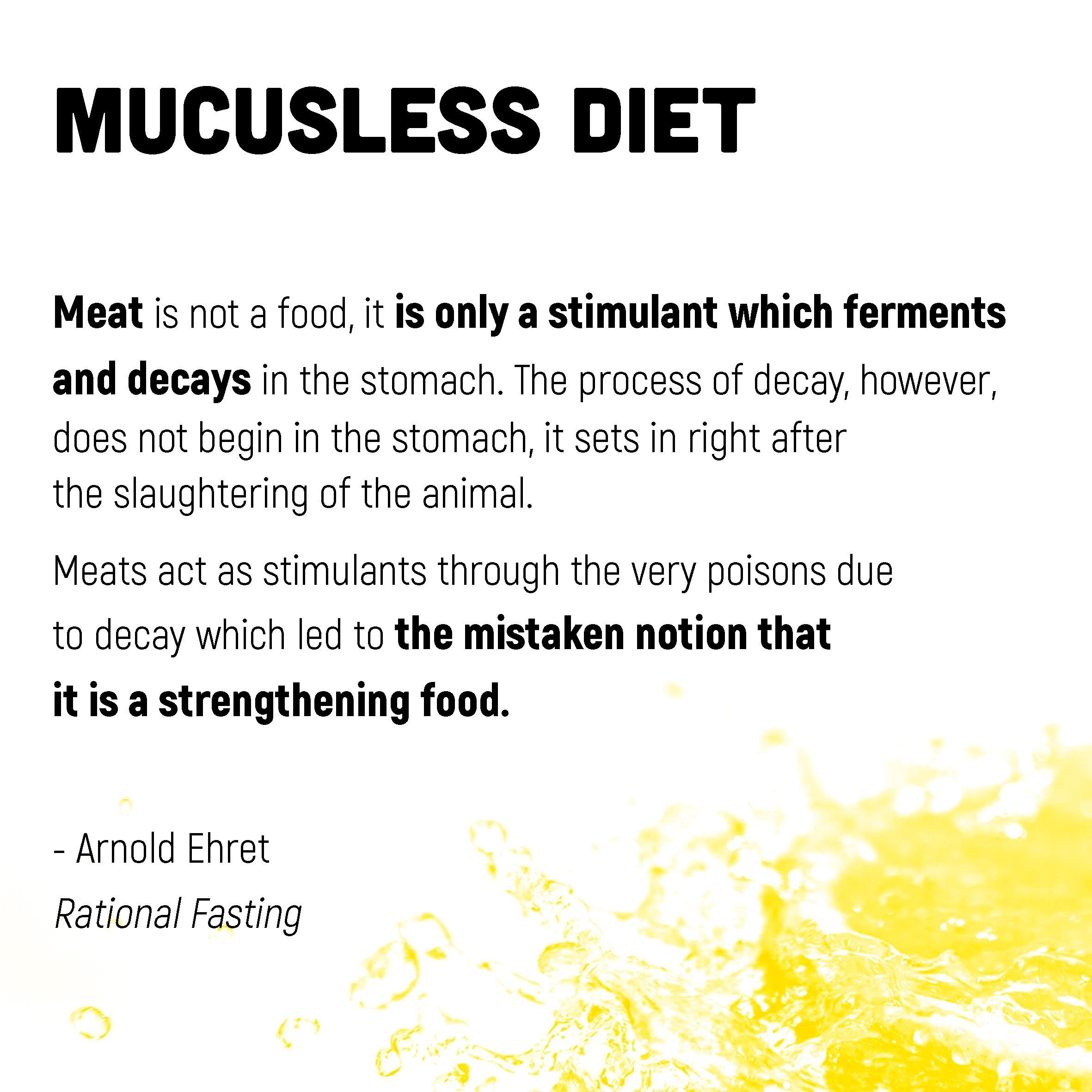 Meat Is Not A Food It Is Only A Stimulant Which Ferments And Decays In The Stomach The Process Of Decay However Do Dr Sebi Natural Health Care Health Facts