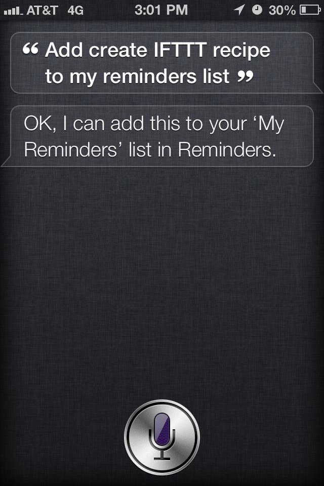 Add Tasks to Your Wunderlist Inbox via Siri and Apple Reminders