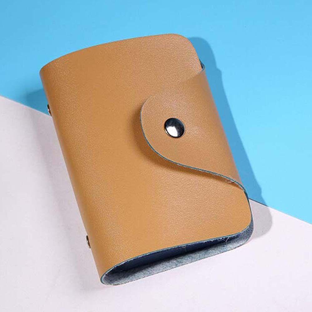 Fabulous Men Women Leather Credit Card Holder Case Card Holder ...