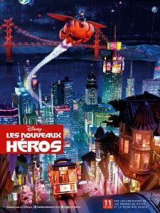 """Notre avis sur le film Disney """"Les Nouveaux Héros"""" ! http://disney-planet.fr/les-nouveaux-heros/"""