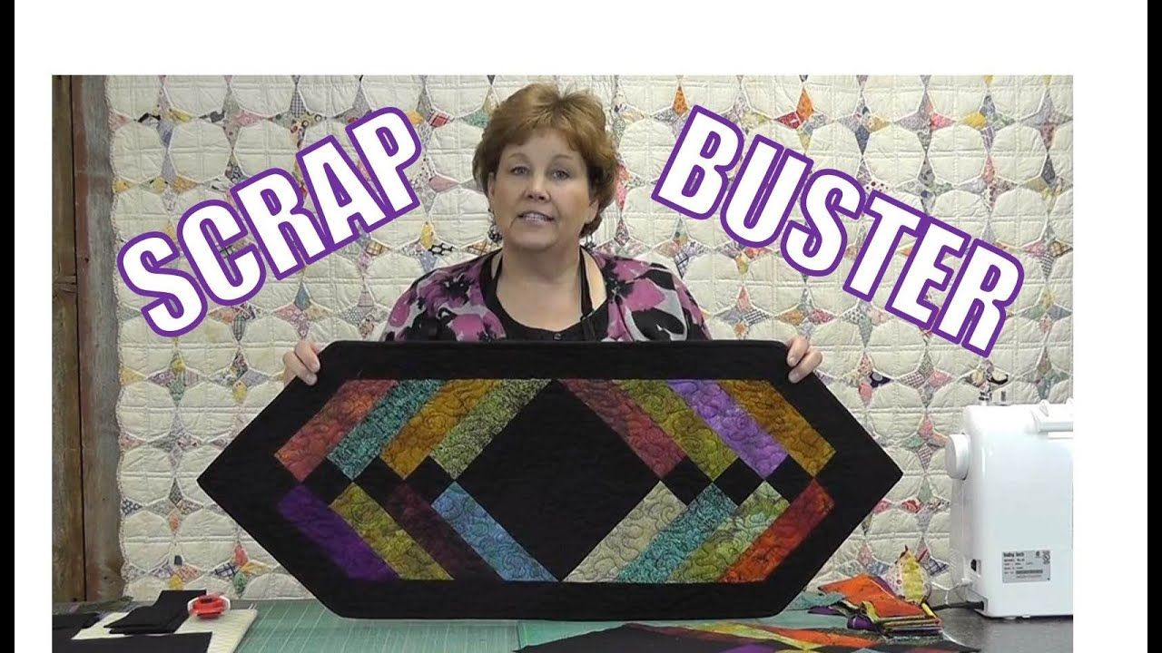 Scrap Buster Make Easy Table Runner Using The Binding Tool Missouri Star Quilt Company Tutorials Missouri Star Quilt Company Missouri Star Quilt Tutorials