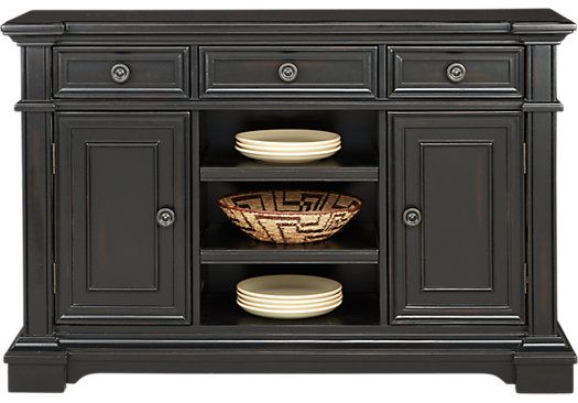 Picture Of Eric Church Highway To Home Arrow Ridge Ebony Server From Servers  Furniture · Buffet ServerDining Room ...