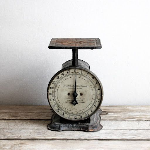 Vintage Scale Antique Kitchen
