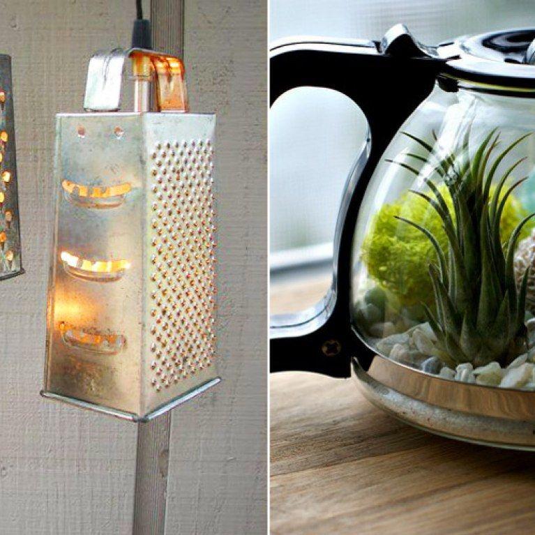 5 Geniale Diy Upcycling Ideen Fur Ausrangierten Kuchenkram Diy Upcycling Lampen Basteln Upcycling
