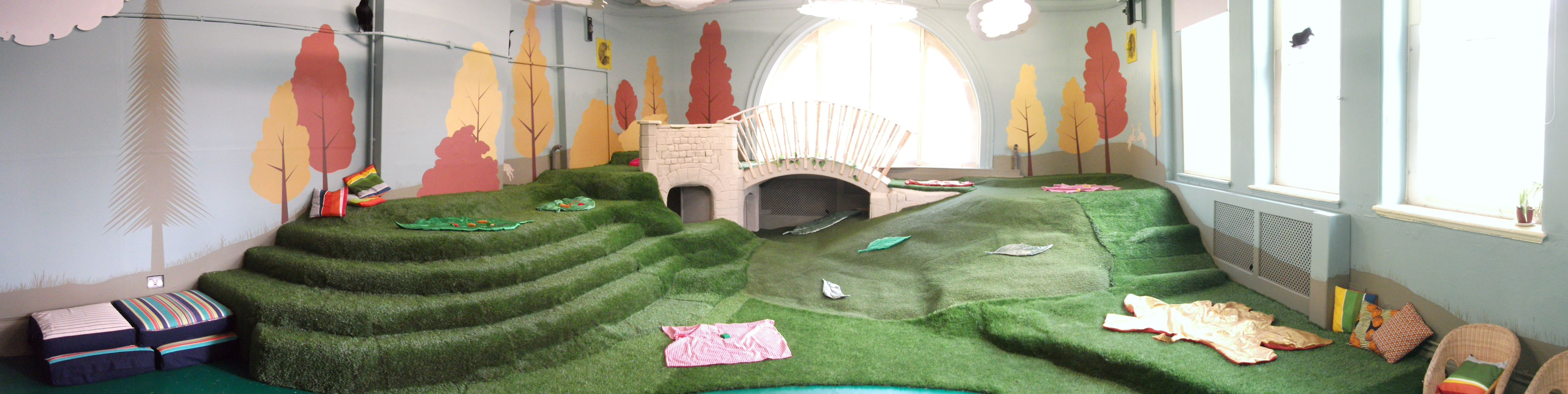 Our play and birthday party area for children.