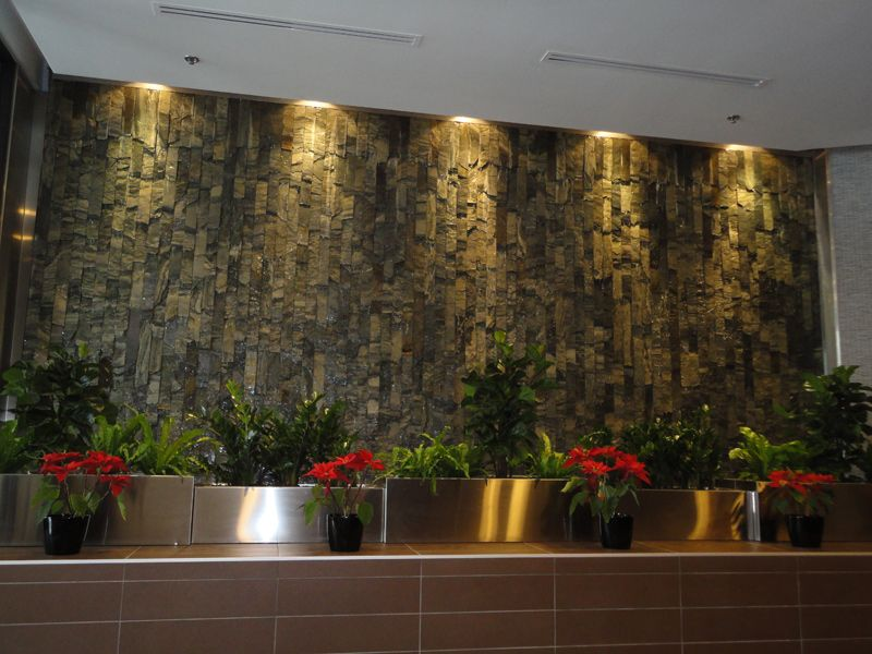 Indoor Wall Fountains Style | water feature | Pinterest | Indoor ...