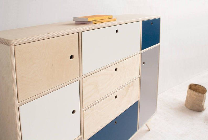 Bliss 2 Handmade Plywood Chest Of Drawers Etsy In 2020 Scandinavian Chest Of Drawers Modern Scandinavian Interior Drawers