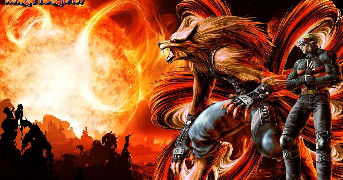 Naruto Nine Tails Wallpaper Hd Di 2020 Naruto Uzumaki Naruto