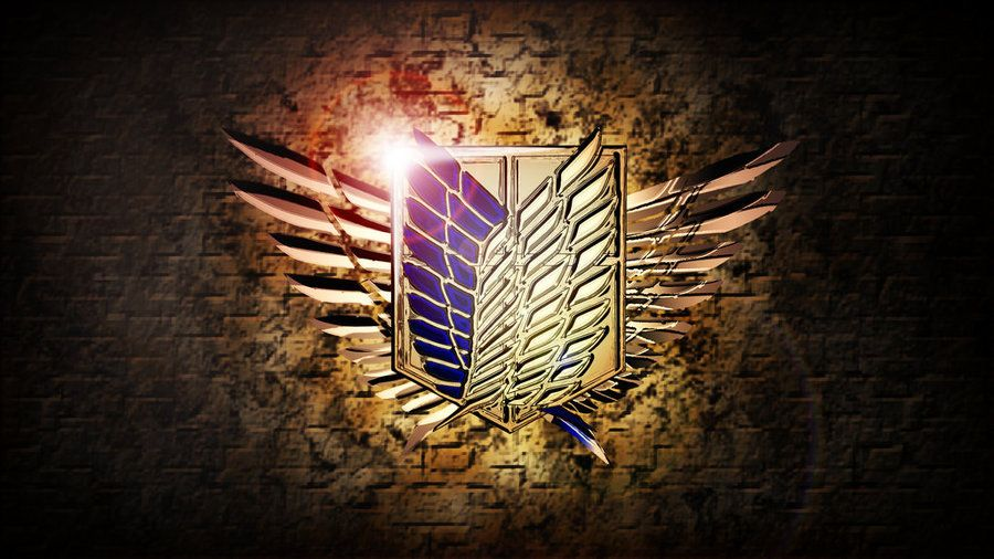 shingeki no kyojin - wallpaper the wings of freedom | Shingeki no ...