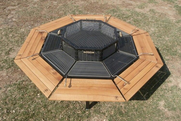 I Want Thisfire Pit Grill Table Fashion Pinterest Fire - Fire pit and grill table