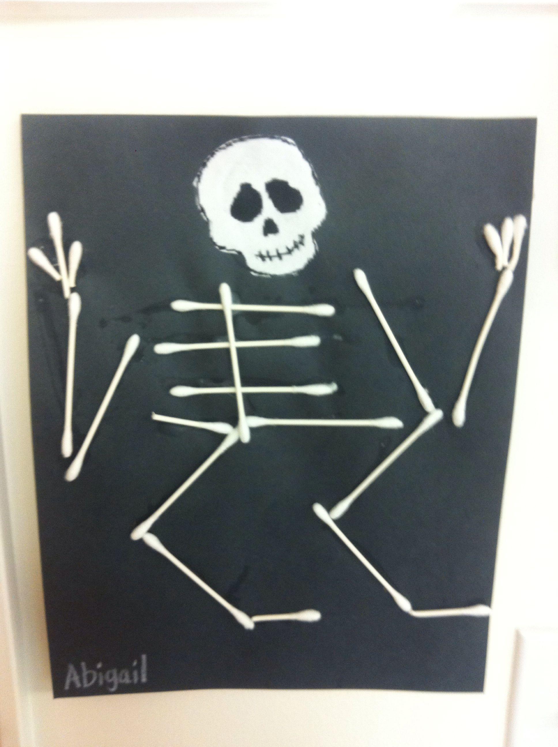 Skelton Q Tips