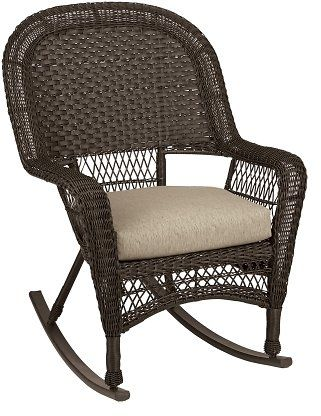 Stupendous Chicago Wicker Chesapeake Wicker Rocker Acehardware Com Inzonedesignstudio Interior Chair Design Inzonedesignstudiocom
