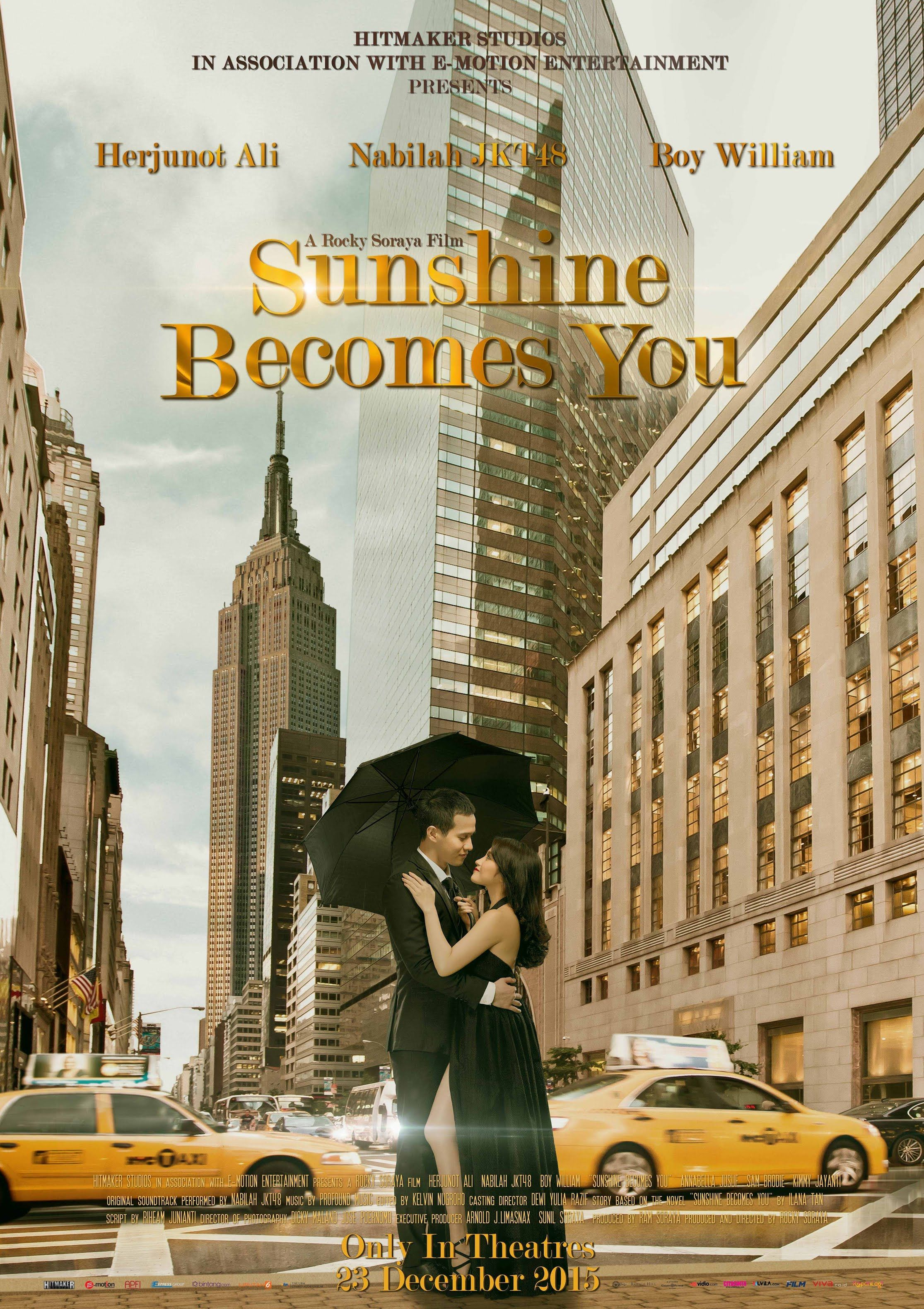 SUNSHINE YOU OFFICIAL TRAILER Film romantis