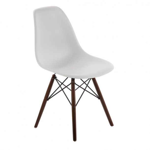 Eiffel Chair Walnut Base White Top Eiffel Chair Chair Interior