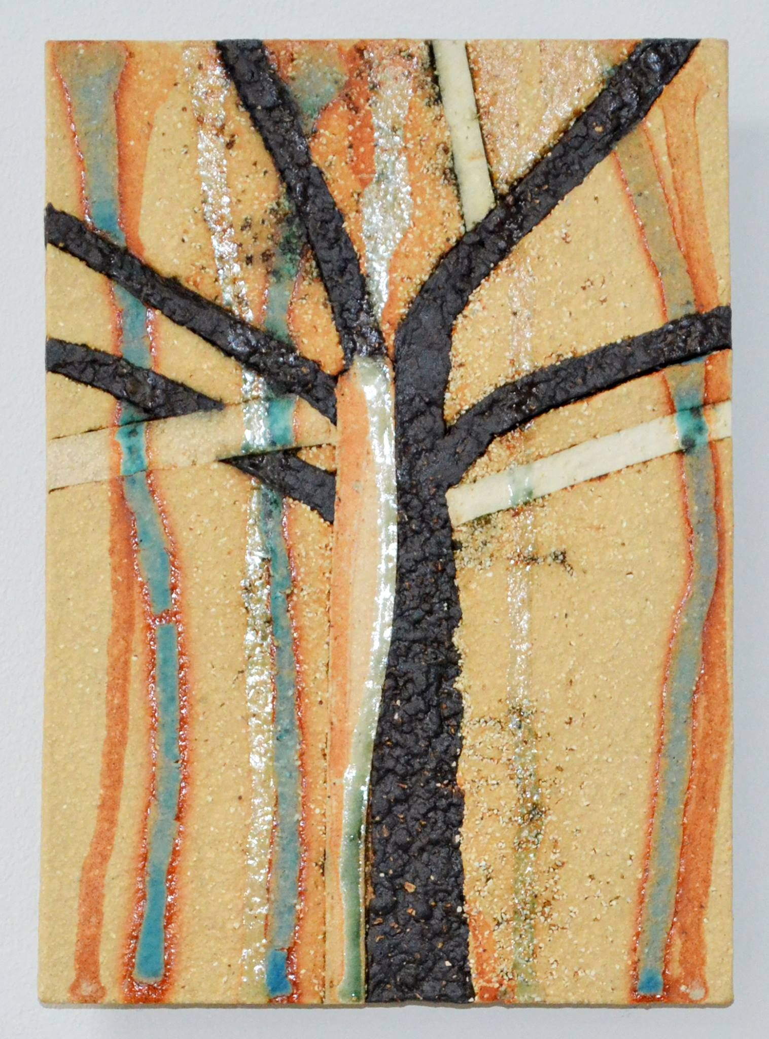 Clare Crouchman, Tree Series, ceramic | Ceramic Tiles and Wall ...
