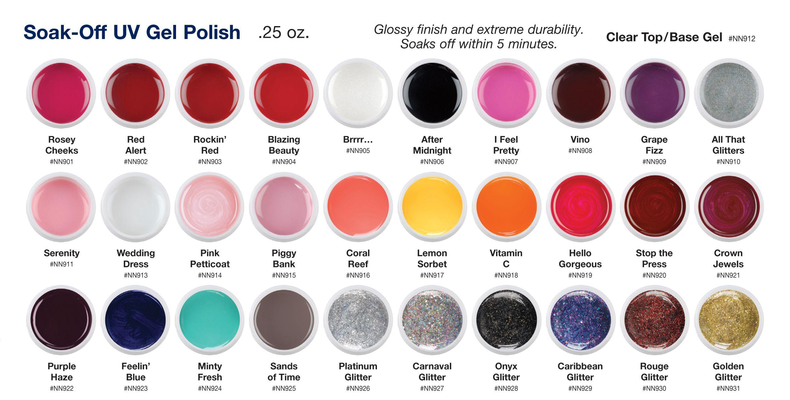 Ulta Gel Nail Polish Colors