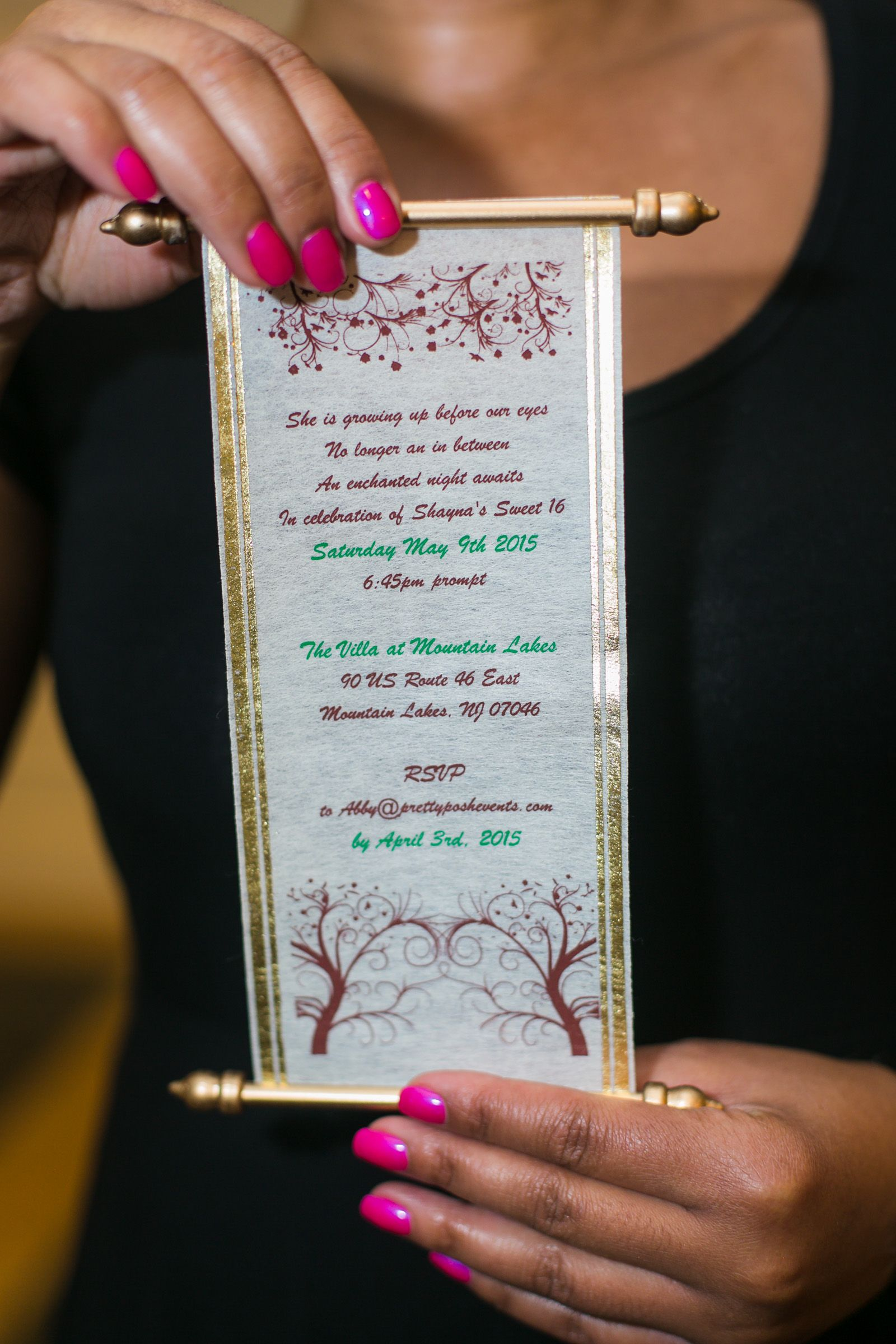 Image Result For Enchanted Forest Scroll Invitation Jayde S Sweet