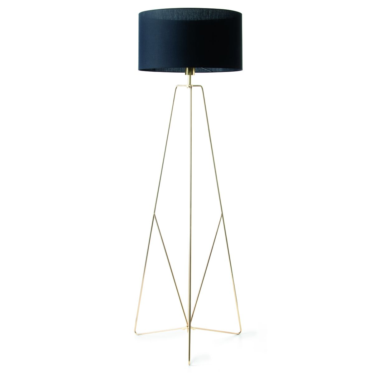 Brass Look Floor Lamp | Kmart | Lamp