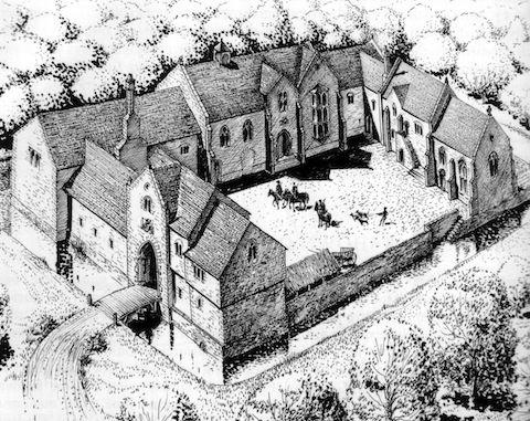 Secret Site Of Guildfords Medieval Royal Hunting Lodge