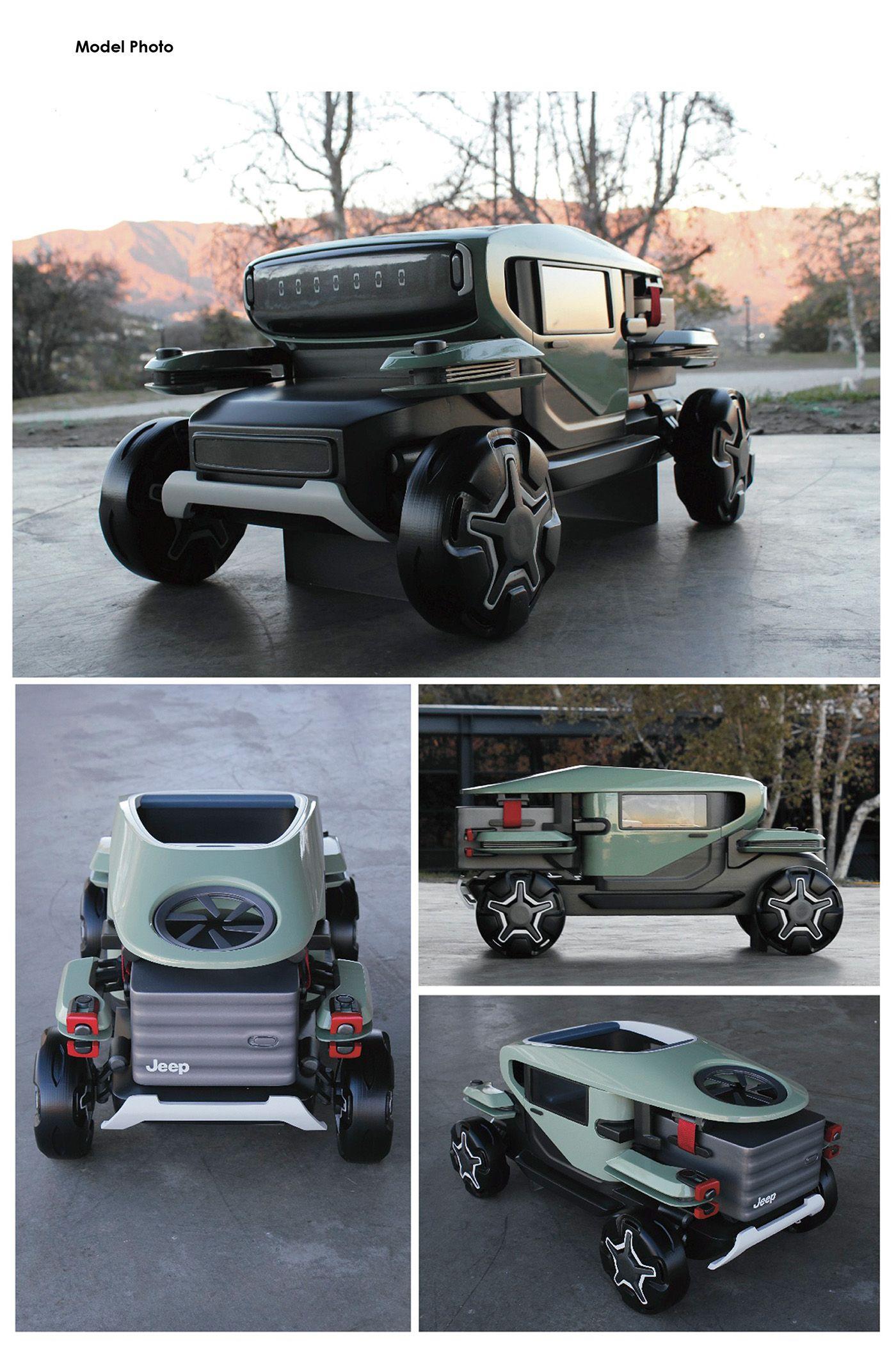Jeep sharing autonomous on behance