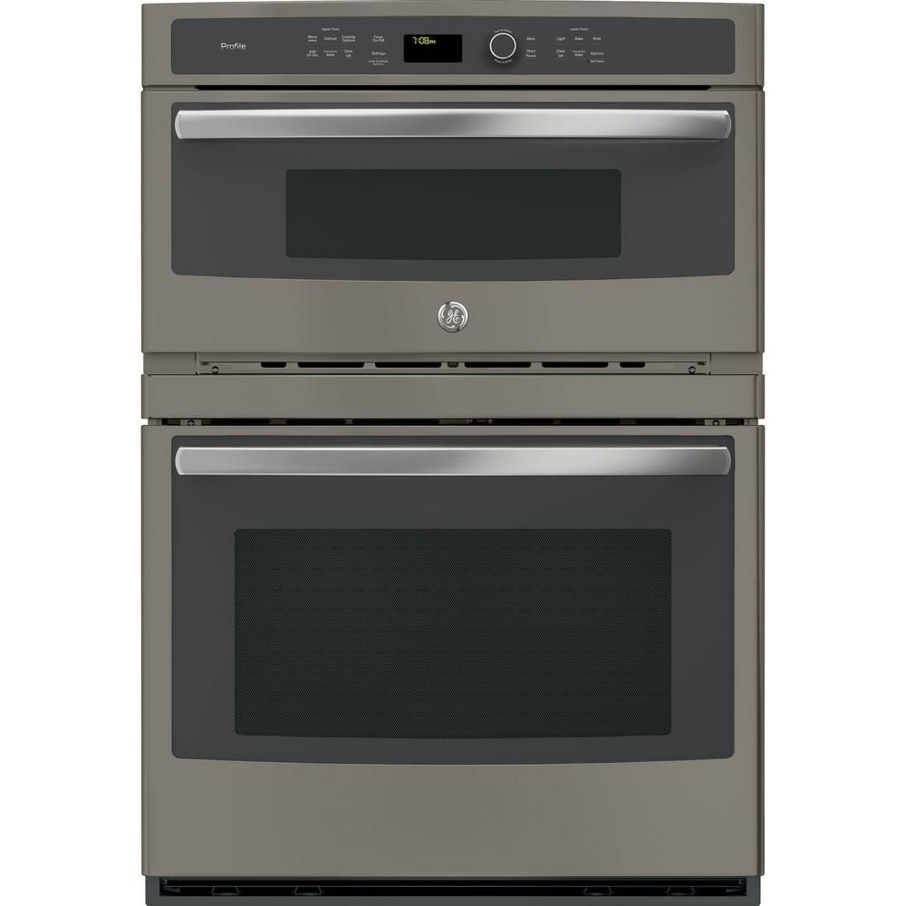 Ge Profile 30 In Double Electric Wall Oven With Convection Self