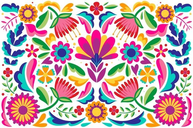 Summer Fotos Y Vectores Gratis Pinturas De Arte Popular Flores Mexicanas Modelo De Arte