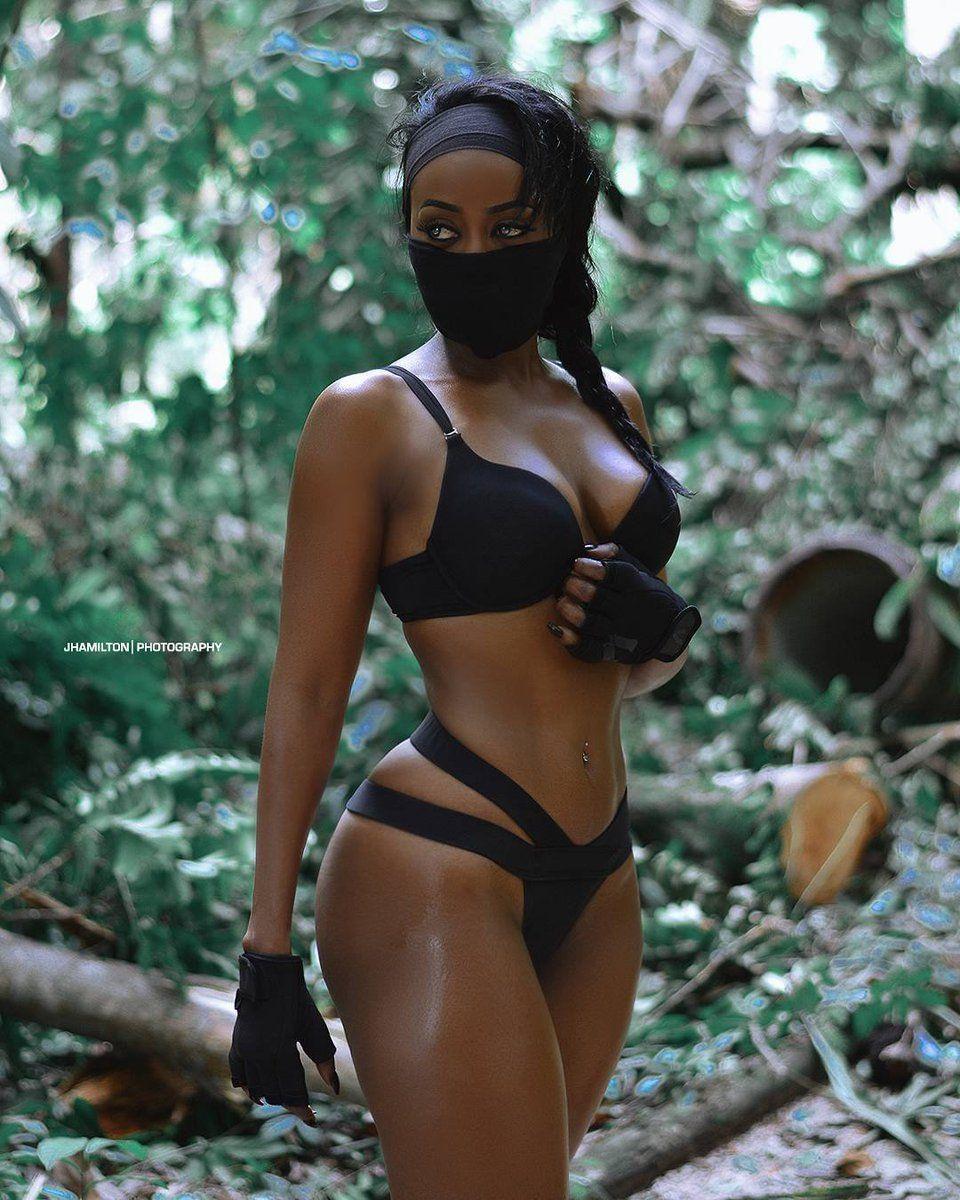 Black ebony sexy ladies punk pictures