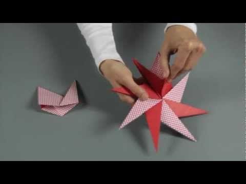 in diesem film zeige ich dir wie du einen stern mit 8 spitzen bastelst auch dieser stern wurde. Black Bedroom Furniture Sets. Home Design Ideas