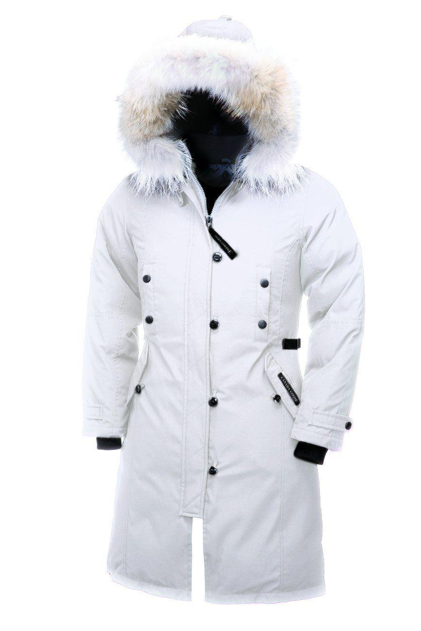 Canada Goose Women S Kensington Parka Kensington Parka Celebrity Casual Outfits Fashion
