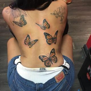 Photo of Girls Back Tattoos Ideas