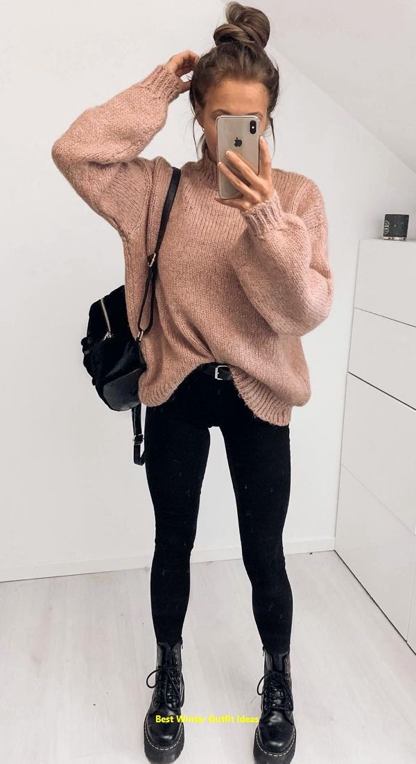 Pretty Winter outfits #winterfashion