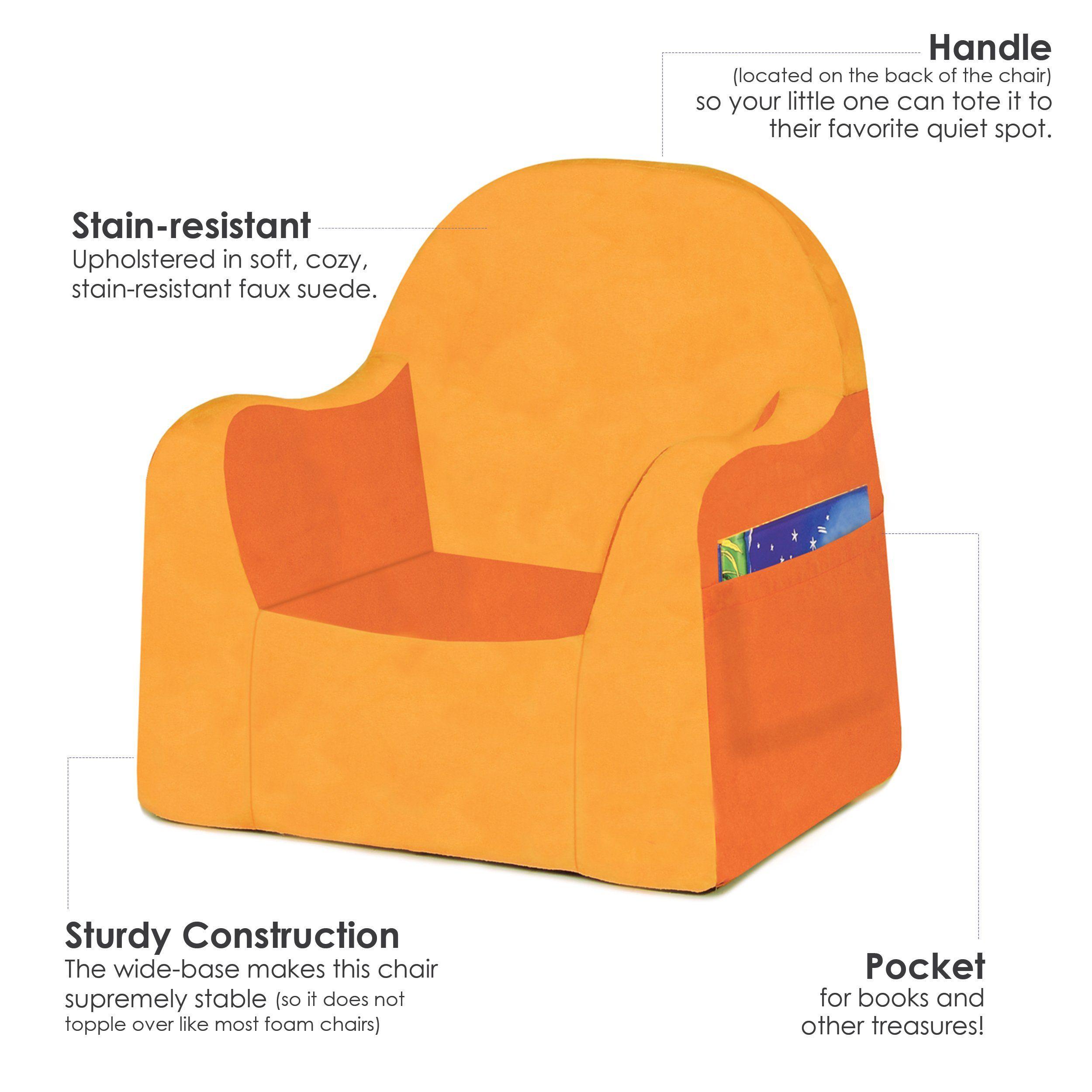 Tremendous Pkolino Little Reader Chair Orange Continue To The Product Download Free Architecture Designs Sospemadebymaigaardcom