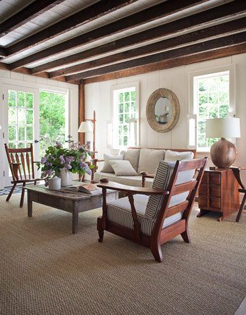Warm Vintage Woodsy Inspiration Por La Casa Colonial Farmhouse In Hilale Ny Designed By Shawn Henderson