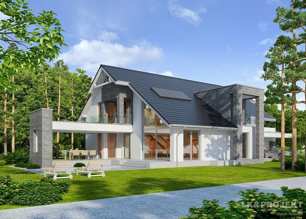 Contemporary Open Concept House Plan Open Concept House Plans Architecture House House Design