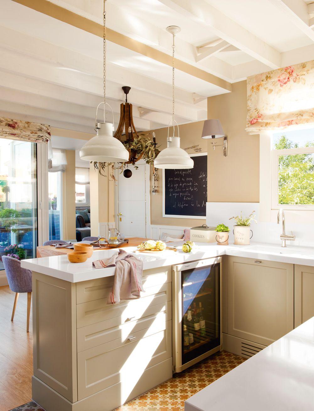25 ideas para alegrar tu casa esta primavera   Decoracion cocinas ...