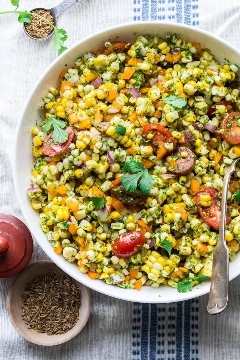Corn Salad Recipe Vegan