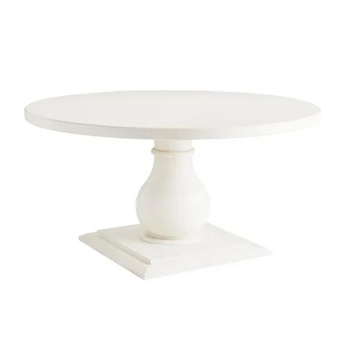 Prescott Pedestal Rain White 60 Dining Table In 2020 Dining