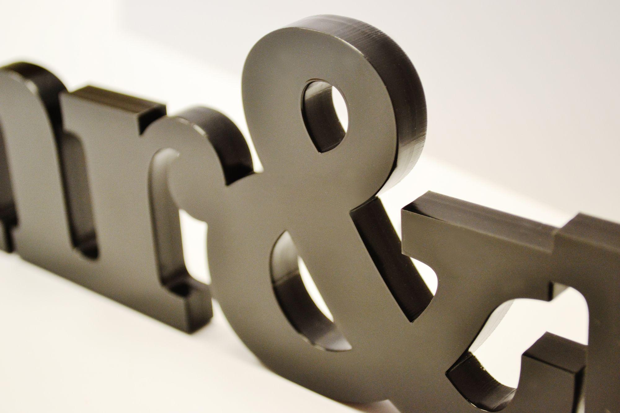 Cut Metal Letters Bradfordlasercutting_Nonmetalletters  Signage  Pinterest