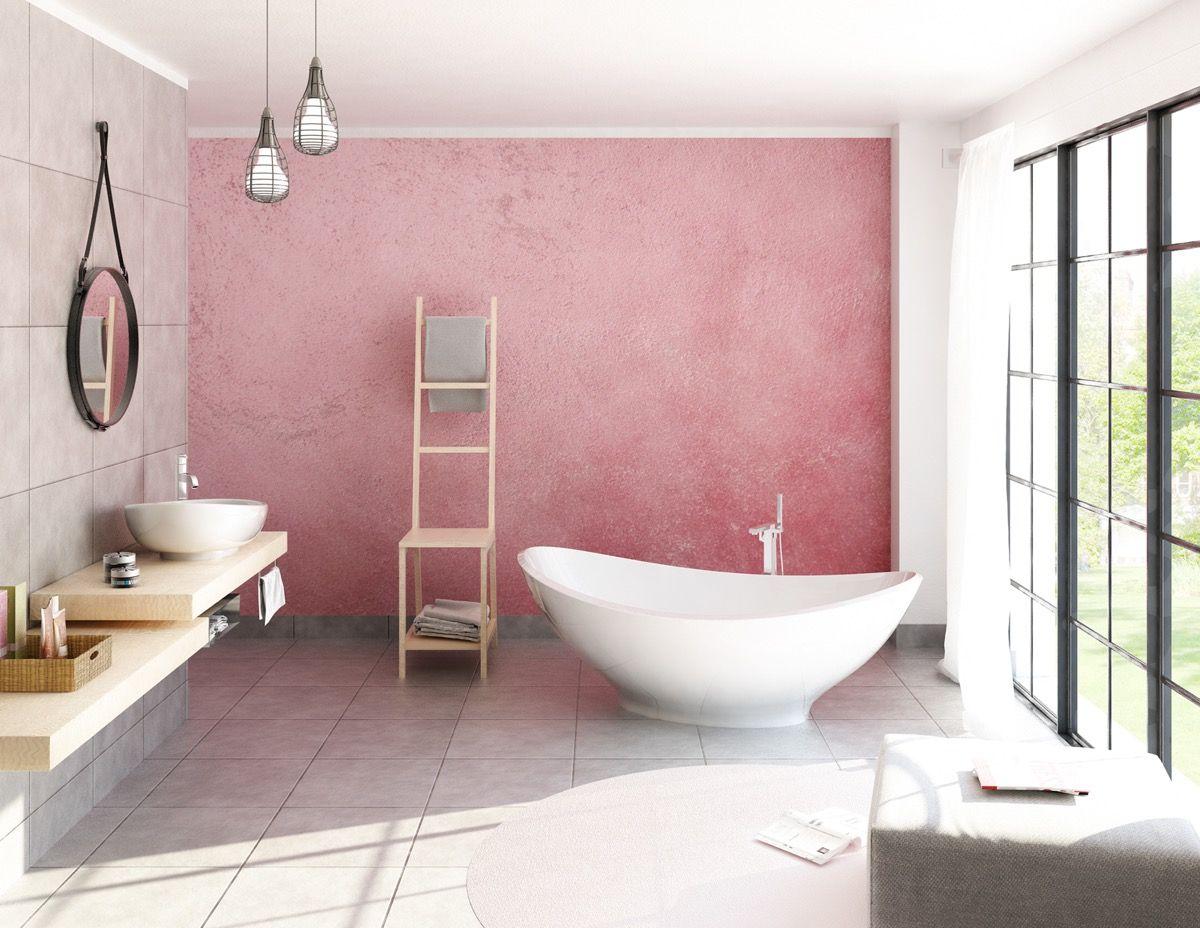 Photo of 51 rosafarbene Badezimmer mit Tipps, Fotos und Zubehör, die Ihnen beim Dekorieren helfen