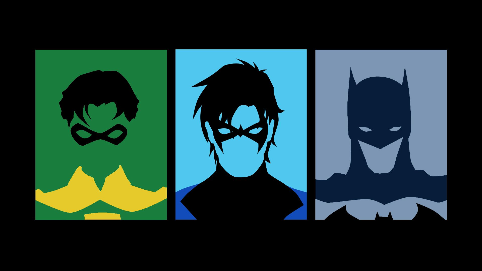 Comics Batman Robin Nightwing Wallpaper