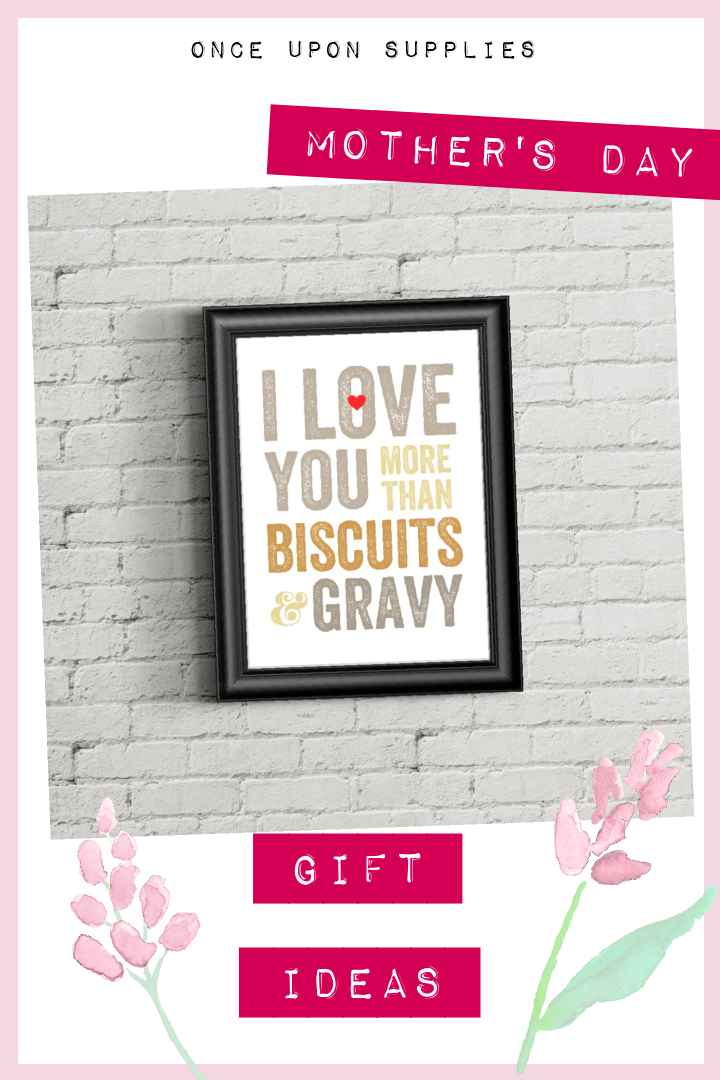 Download I Love You More Than Biscuits and Gravy Print in 2020 ...