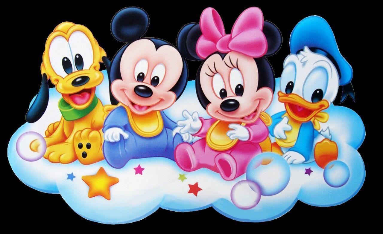 Pin By Vanielza Ferreira On Minnie E Mickey Turminha Baby Disney Characters Mickey Mouse Wallpaper Baby Mickey